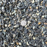 1B 1/2″ Clean Crushed Blue Stone from