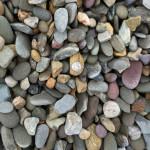 """1""""- 1 1/2″ Delaware River Round Landscape Stone"""