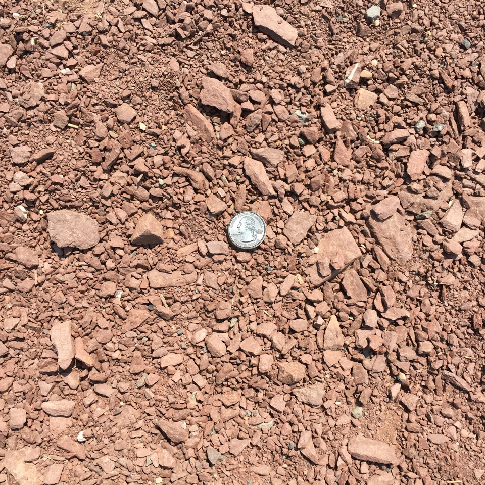 2A 3/4″ Modified Crushed Red Stone